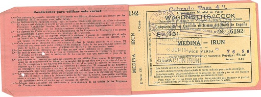 Train ticket to cross Spain