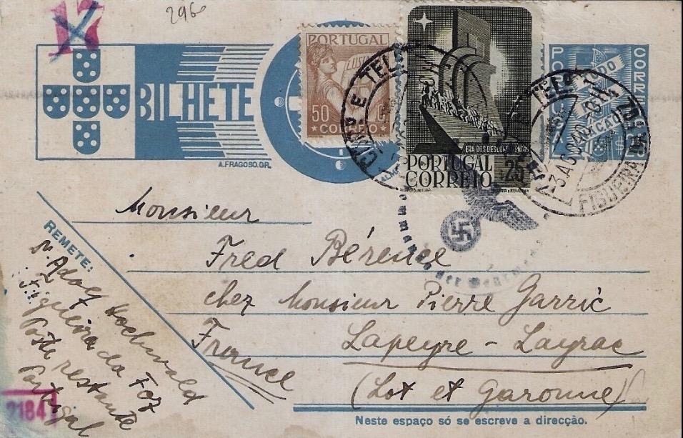 Adolf HOCHWALD postcard