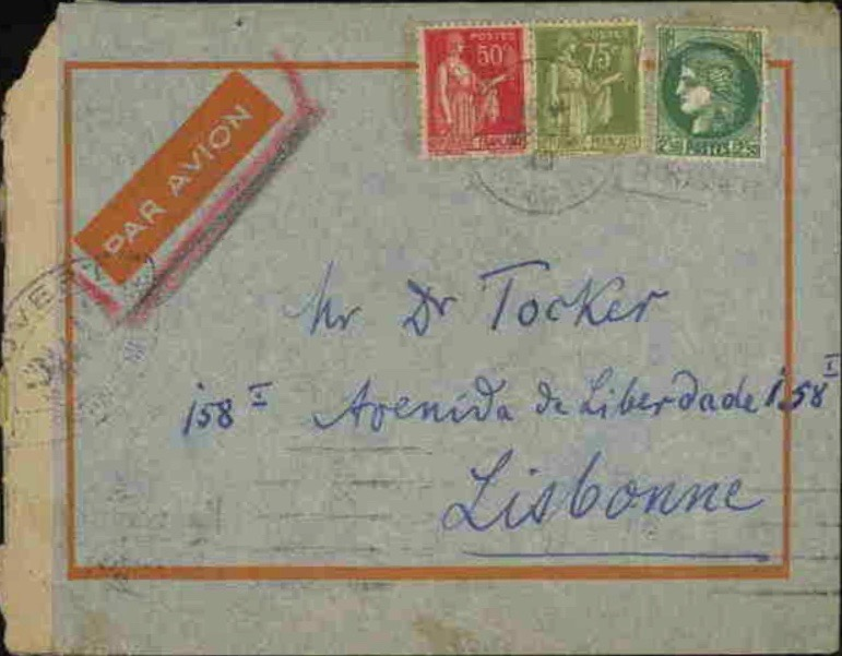Tocker envelope