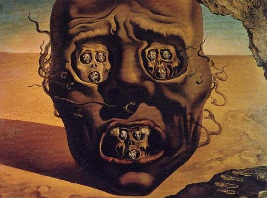 Salvador DALI, The Visage of War, 1940