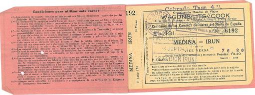 Train ticket to cross Spain