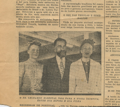 Newspaper clipping, 1941
