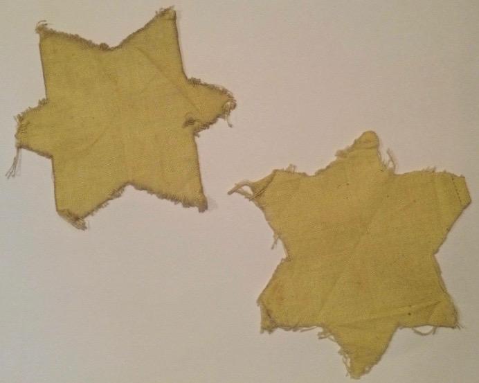 Stars worn by Eugenia and Stefan ROZENFELD