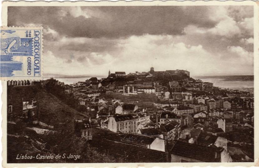 Postcard from Lisbon, August 1940