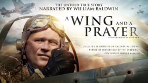 A Wing and a Prayer poster banner